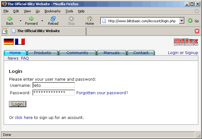 http://httrack.kauler.com/screenshots/form_auth_blitz_06_enterlogin.png